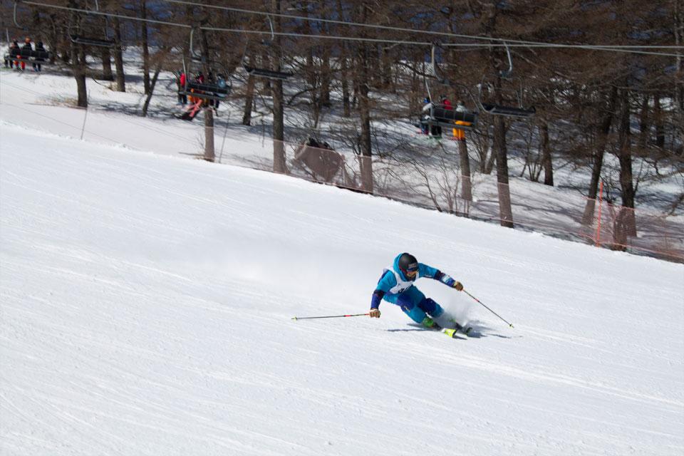 大会参加者の滑りは見事でした